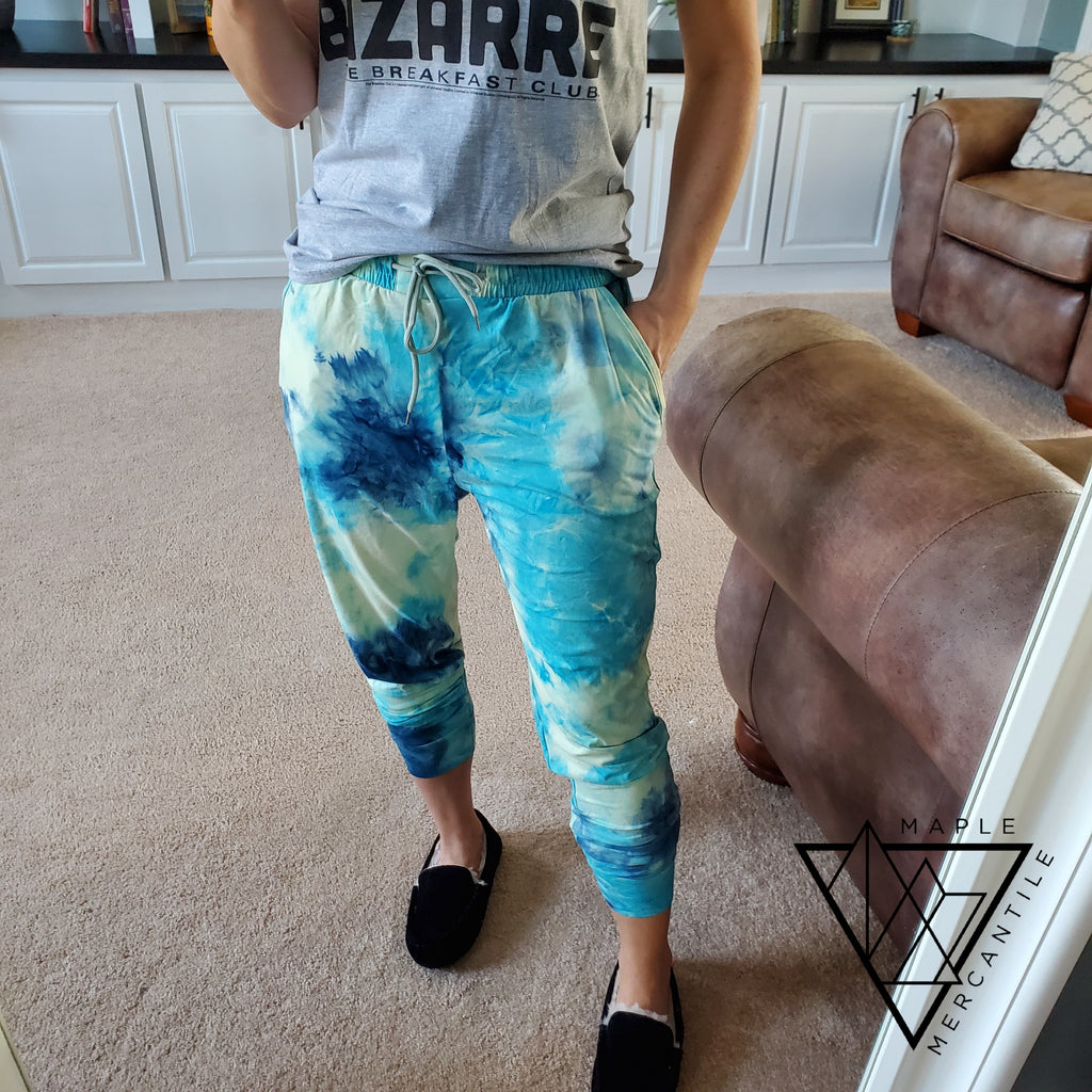 The Legging Jogger - Tie Dye