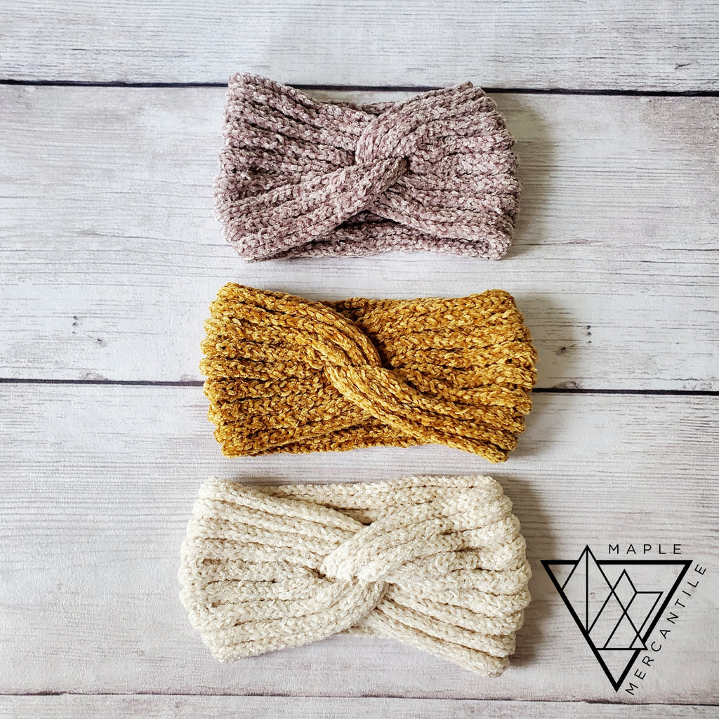 Soft Twist Headbands