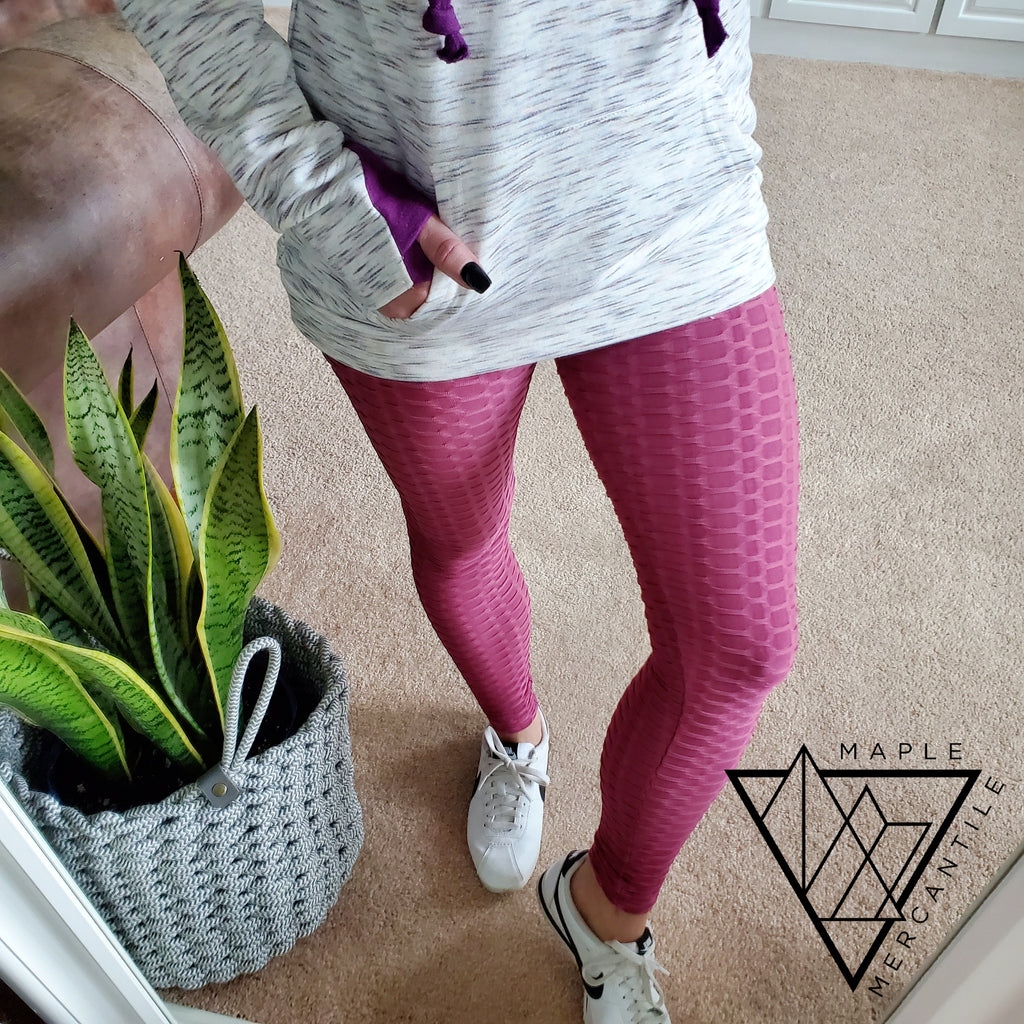 Textured Leggings - 5 Colors