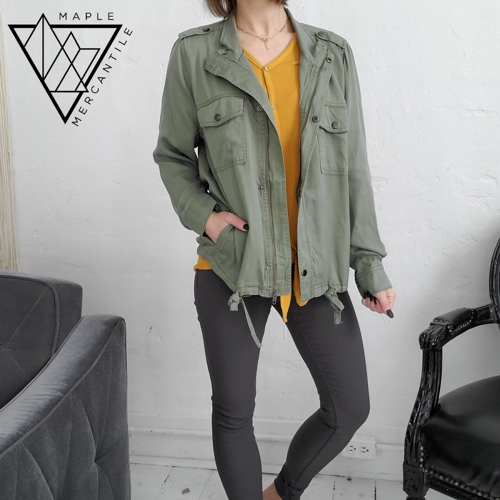 Be Cool Olive Jacket