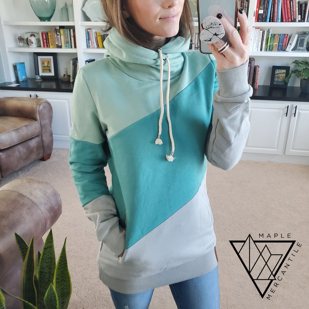 Ampersand Avenue Hoodie - Sea Glass
