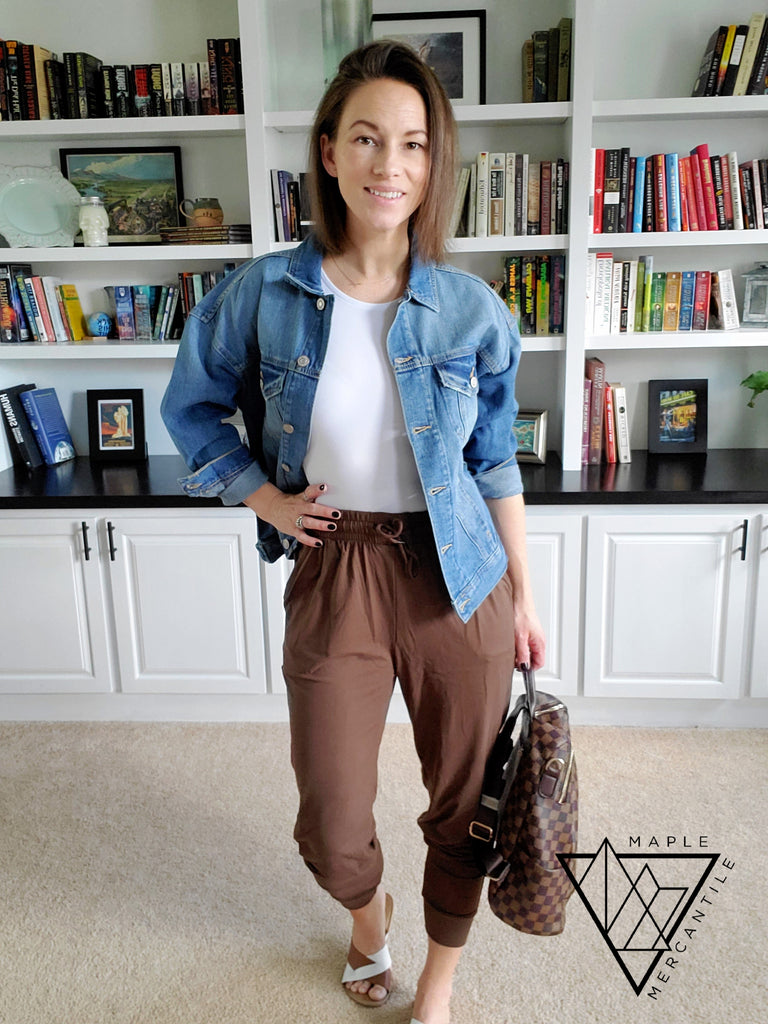 The Legging Jogger - Mocha