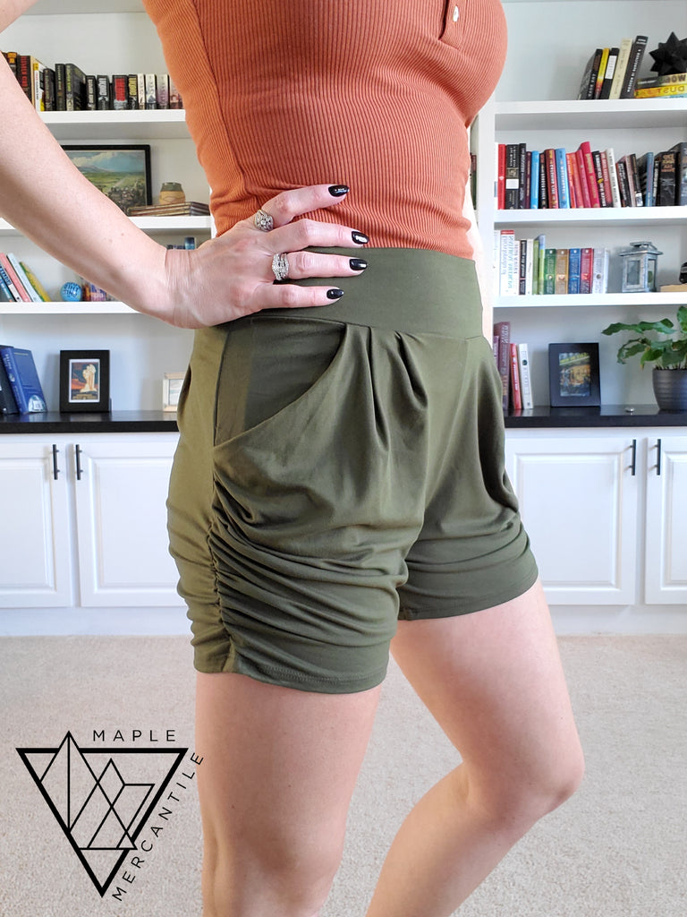 The Lounge Short - Olive
