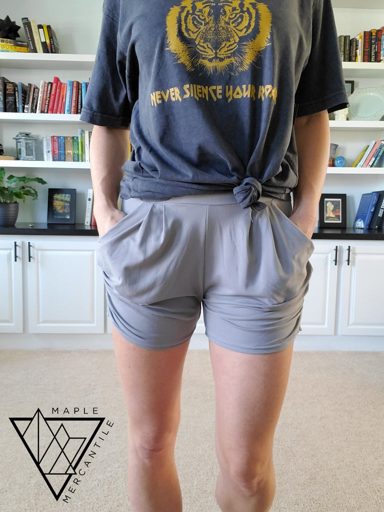 The Lounge Short - Light Grey