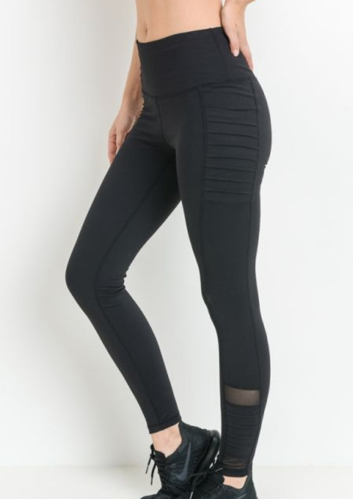 Moto Workout Pants