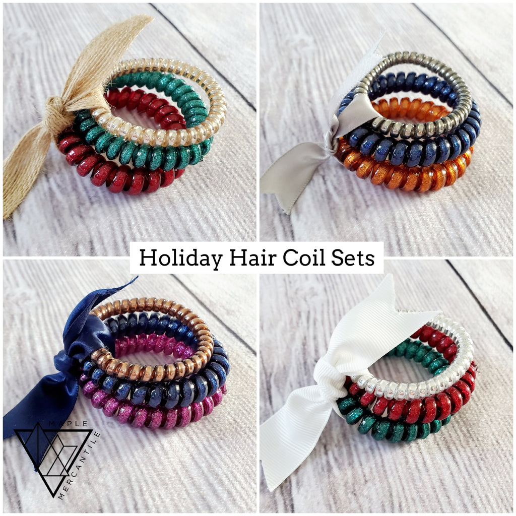 Holiday Hair Coil Sets