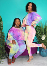 OVER THE RAINBOW PURPLE 2pc (S-3XL)