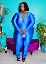 GOTTA SHINE JUMPSUIT ROYAL
