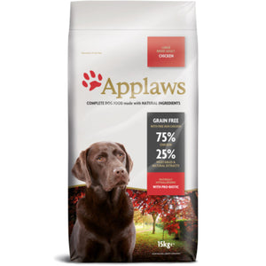 Applaws Chicken Large Breed Adult Dry Dog Food - 15kg