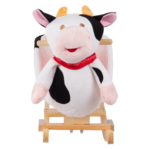 Juniors Rocking Cow with Seat