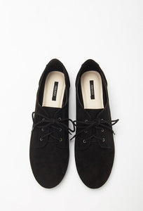 Faux Suede Black