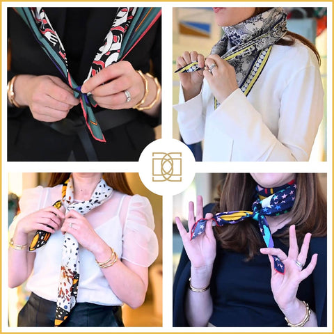New Scarf Style Videos for You!