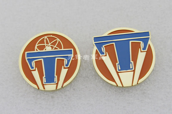Tomorrowland Pass Brooch Badge 1