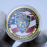 NYPD New York Police Badge Challenge Coin