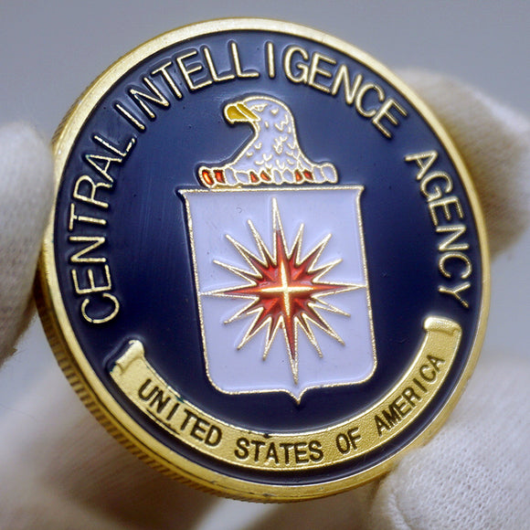US CIA Central Intelligence Agency Badge Challenge Coin