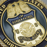 US CBP Border Patrol Agent Badge Challenge Coin