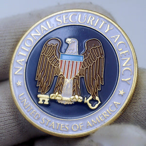 US National Security Agency Badge Challenge Coin