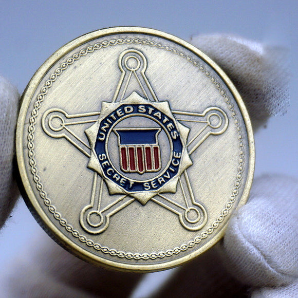 USSS US Secret Service Badge Challenge Coin