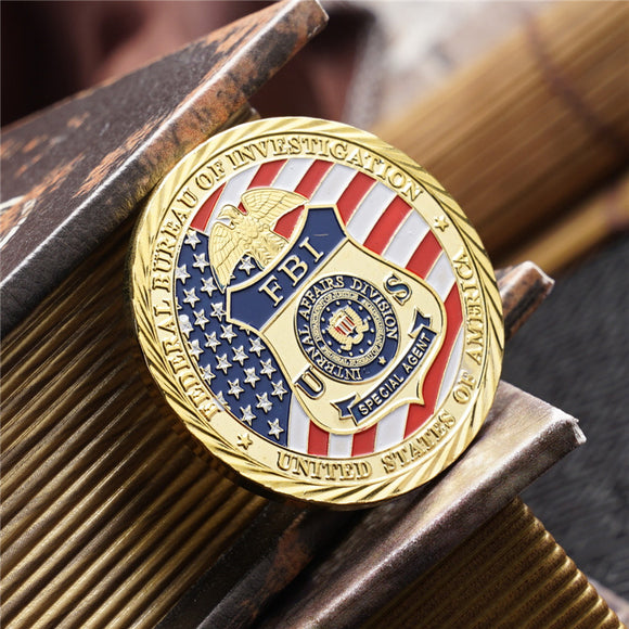 US FBI Special Agent Badge Challenge Coin