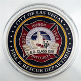 Las Vegas Fire & Rescue Department Duty Honor Badge Challenge Coin