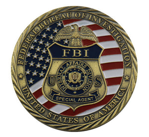 US FBI Special Agent Badge Military Challenge Coin