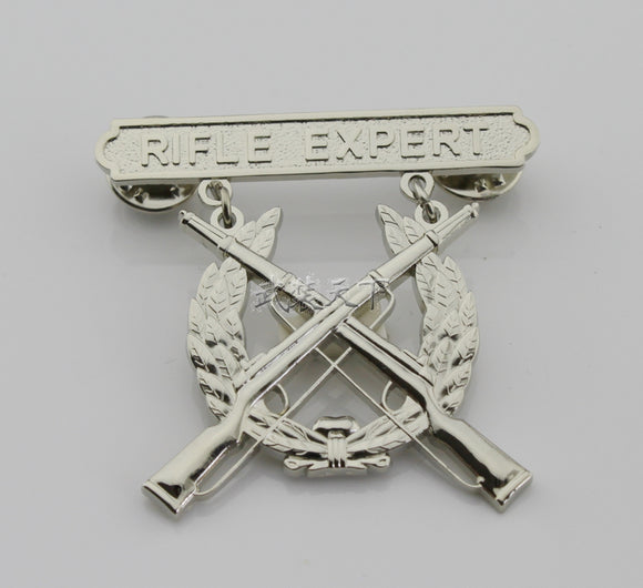 USMC US Marine Corps Rifle Expert Badge Replica Movie Props