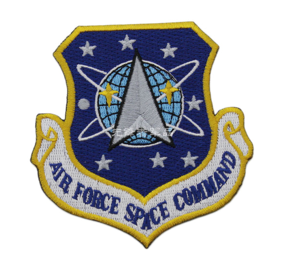 AFSPC US Air Force Space Command Badge Embroidery Patch