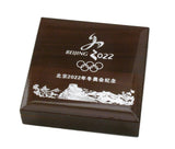 2022 Beijing Winter Olympics High-relief Large Copper Coin Medal 90mm With Box