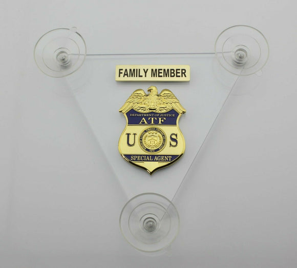 ATF Car Shield Family Member