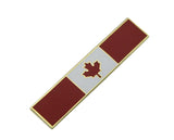 Canadian Flag Citation Bar Police Merit Award Commendation Lapel Pin