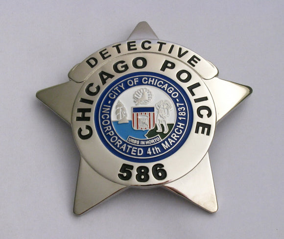 Chicago-Detective-Police-Badge-586-1