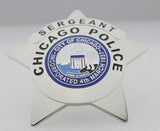 Chicago Sergeant Police Badge