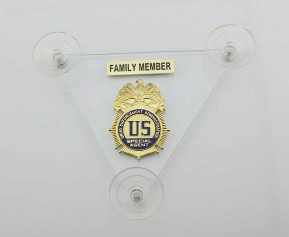 DEA CAR SHIELD FAMILY MEMBER