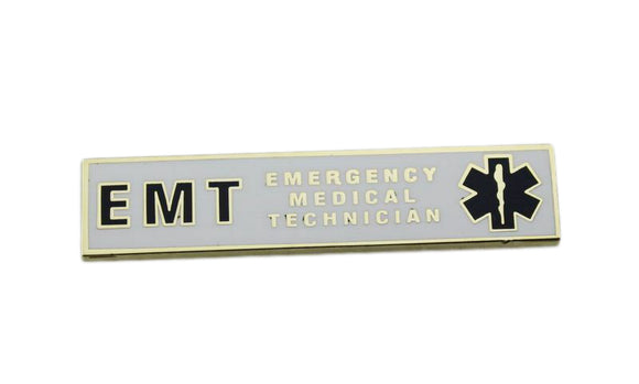 EMT Citation Bar Emergency Medical Technician Merit Service Award Commendation Lapel Pin