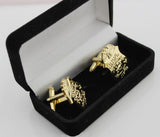 A Pair of FBI Badge Pin Cufflinks With Gift Box