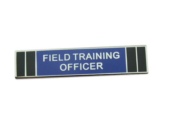 FTO Field Training Officer Police Citation Bar Merit Award Commendation Lapel Pin