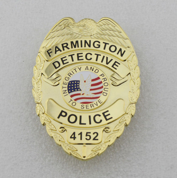 POLICE BADGE – Tagged