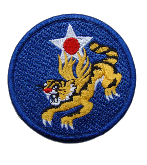 US Fourteenth Air Force Flying Tigers Embroidery Armband Patch