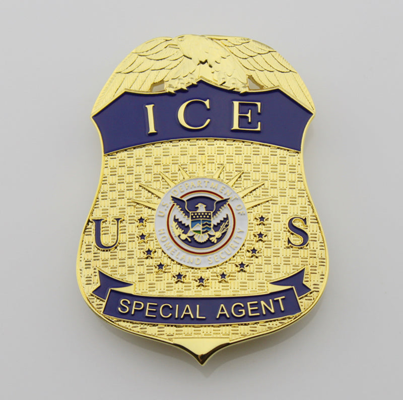 Prop Drama Fun ICE Officer Special Agent ICE Badge Card ID Cards Holder