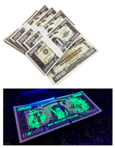 100 Pcs Of One Million Dollars US Statue Of Liberty Novelty Notes Banknotes Paper Money UNC Stack