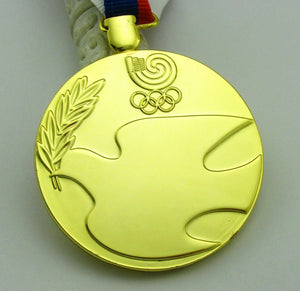 1988 Seoul Olympic Gold Medal with Ribbon 1:1 Full Size Replica
