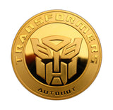 Transformers Decepticon Autobot Superhero Cartoon Comic Commemorative Coins