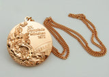 1972 Munich Olympic Bronze Medal with Chain 1:1 Full Size Replica