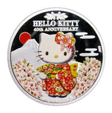 Japan Anime Cartoon Hello Kitty Fuji 40th Anniversary Commemorative Coins