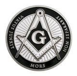 Freemasonry Freemason Masonic All-Seeing Eye Challenge Silver Coin