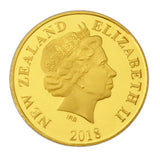 Gold Coin Back