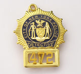 NYPD Badge 472 Front