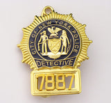 NYPD Badge 7887 Front