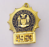 NYPD Badge 4953 Front