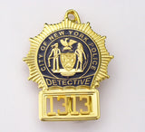 NYPD Badge 1313 Front